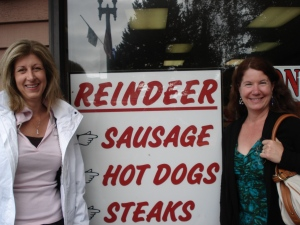 We like the sign. The meat...notsomuch.