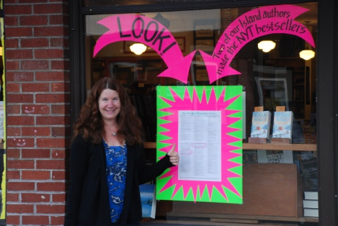 Eagle Harbor celebrates local authors.