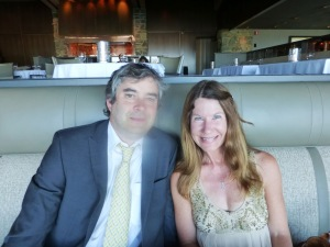 Jerry and Susan anniversary at Canlis