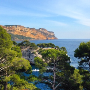 The Calanques near Cassis. Hike until you drop...or until inspiration strikes.